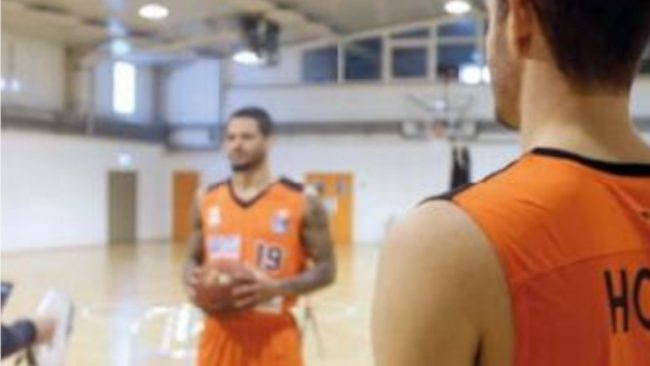 3D Scan mit Artec-Eva BasketballmannschaftRatiopharm Ulm